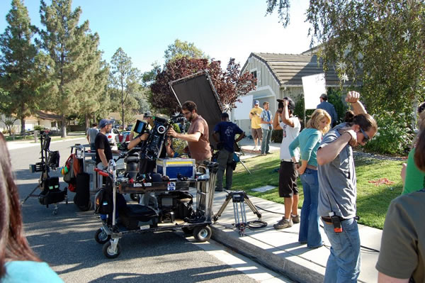Heart of Christmas Filming