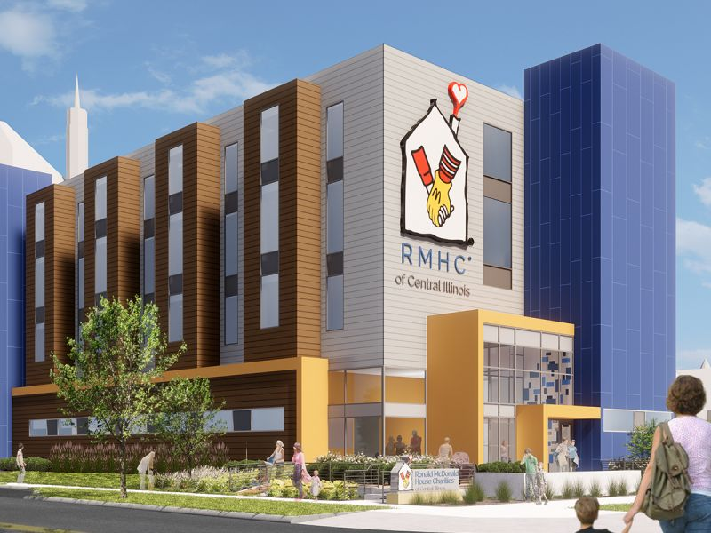 Introducing Peoria's NEW Ronald McDonald House