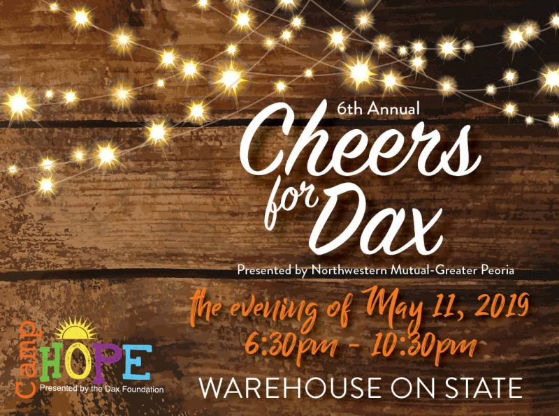 6th Annual Cheers for Dax
