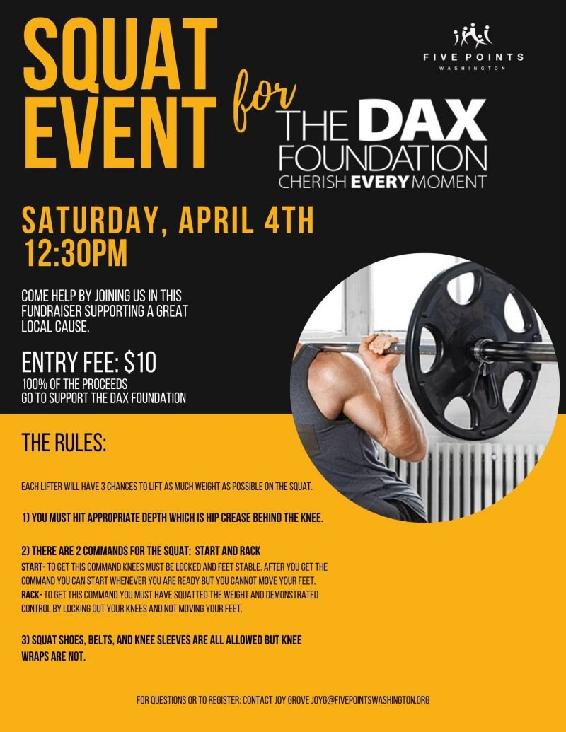 Squat Event for Dax